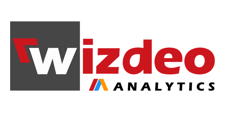 Black logo Wizdeo Analytics