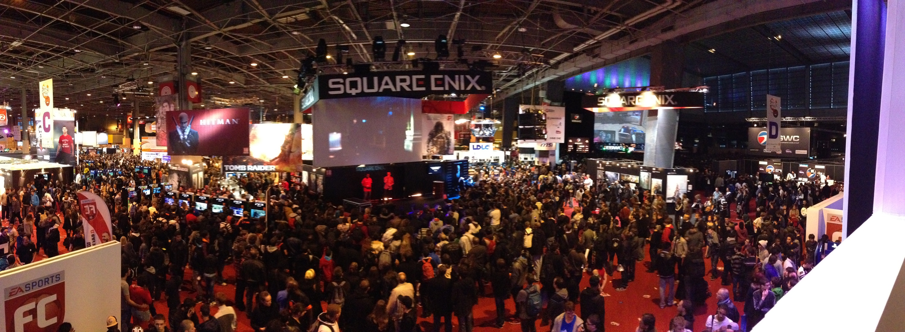 Stand Square enix ESWC