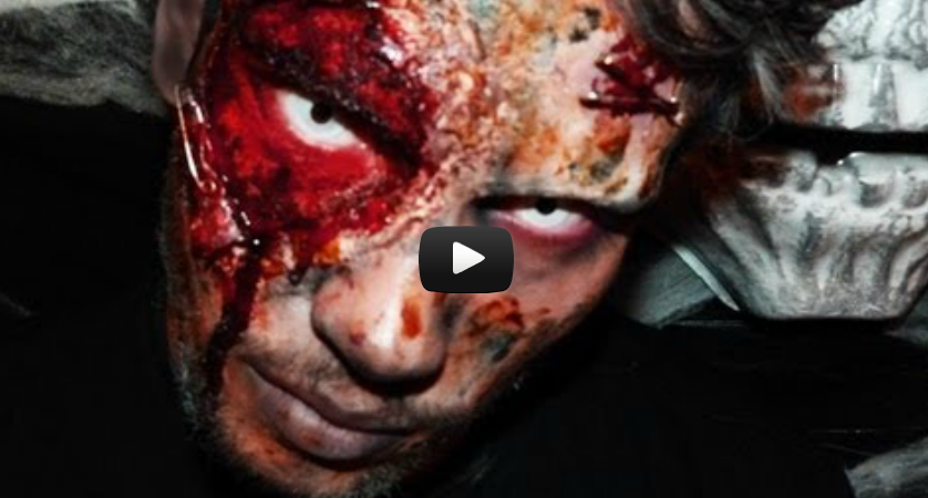 Maquillage Zombie Halloween sur Kevin d Hollywood Girls   YouTube